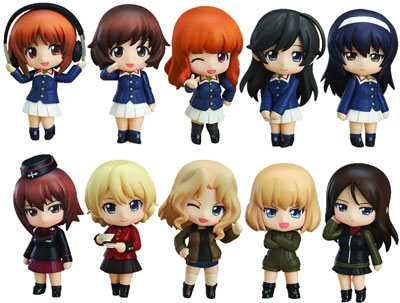 Girls Und Panzer Nendoroid Petite BMB
