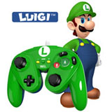 Wii U Luigi Wired Fight Pad