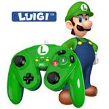 Wii U Luigi Wired Fight Pad