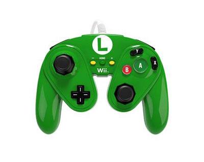Wii U Fight Pad (Luigi)