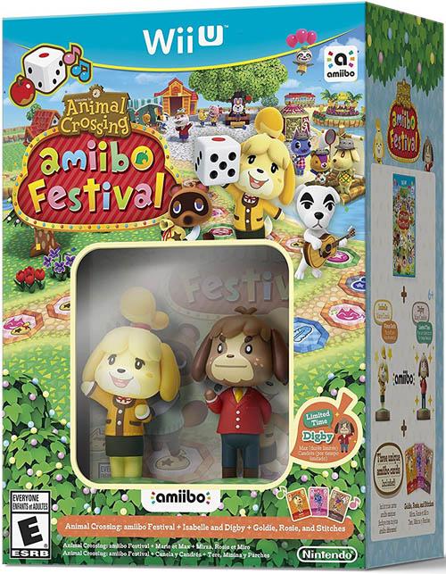Animal Crossing: Amiibo Festival With Amiibos