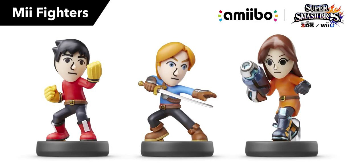 amiibo Mii Fighters Set