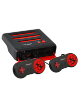 Super Retro Trio NES/SNES/Genesis 3-in-1 Console Red/Black