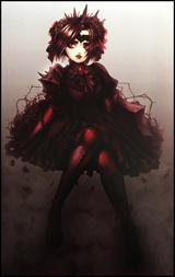 Gothic Lolita Digital Print
