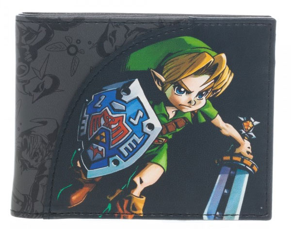 Legend of Zelda Majoras Mask Link Bi-Fold Wallet