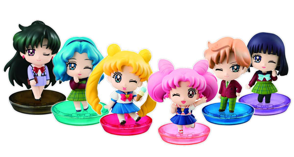 Sailor Moon Petit Chara Land More School Life Figures