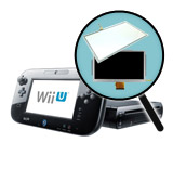 Nintendo Wii U Repairs: Gamepad LCD + Touch Screen Replacement Service