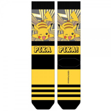 Pokemon Pikachu Sublimated Panel Crew Socks
