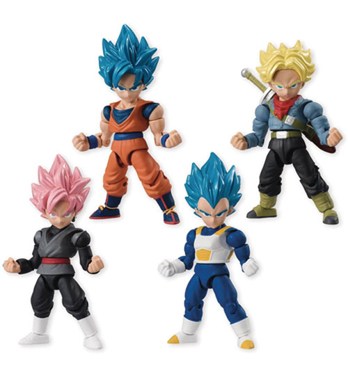 Dragon Ball Super 66 Action Mini Figures