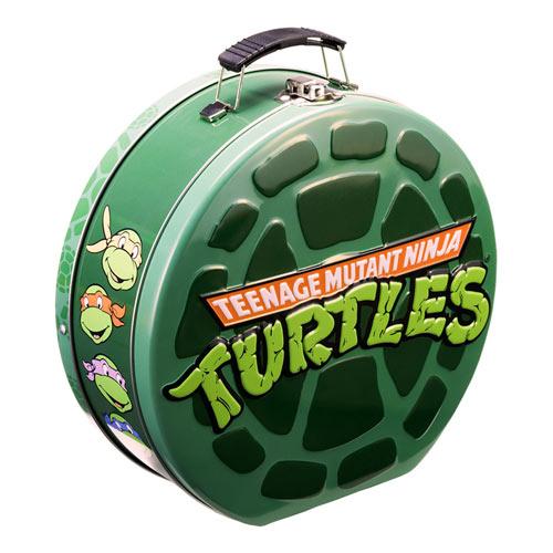 Teenage Mutant Ninja Turtles Embossed Shaped Tin Tote