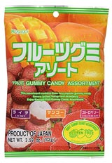 Kasugai Gummy Candy Assortment 3.59oz