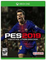 XB1 Pro Evolution Soccer 2019 PES boxart