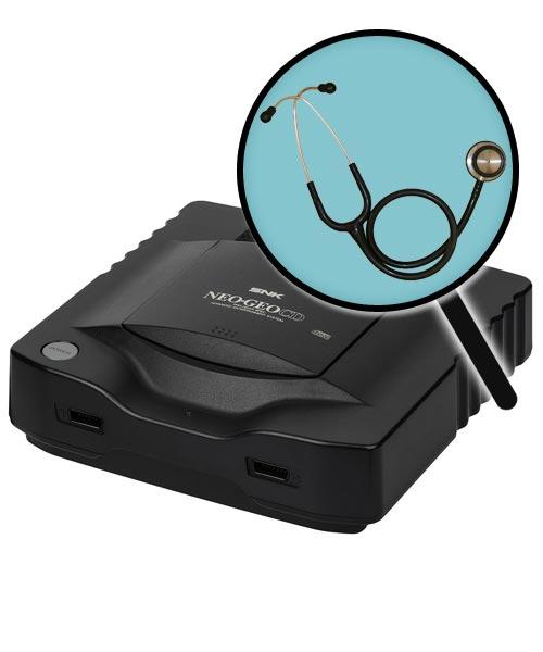 Neo Geo CD Repairs: Free Diagnostic Service