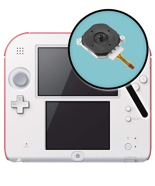 Nintendo 2DS Repairs: Analog Control Stick Replacement Service