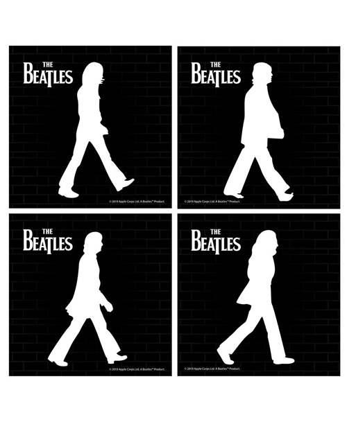 Beatles Abbey Road Ceramic Coaster 4 Pack Set