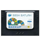 Saturn Backup Cartridge by Sega