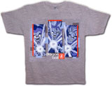 Dragon Ball Z Triple Shot T-Shirt LG