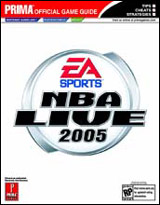 NBA Live 2005 Official Strategy Guide