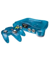 Nintendo 64 Funtastic Series Ice Blue System