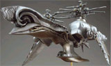 Final Fantasy VII Advent Children: Sierra Aircraft Replica