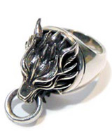 Final Fantasy VII Cloudy Wolf Ring II