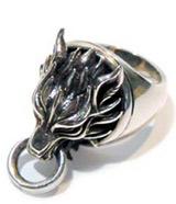 Final Fantasy VII Cloudy Wolf Ring II