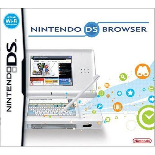 Nintendo DS Lite Web Browser