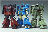 Gundam Zeonography: Limited Edition Zaku Action Figure Set