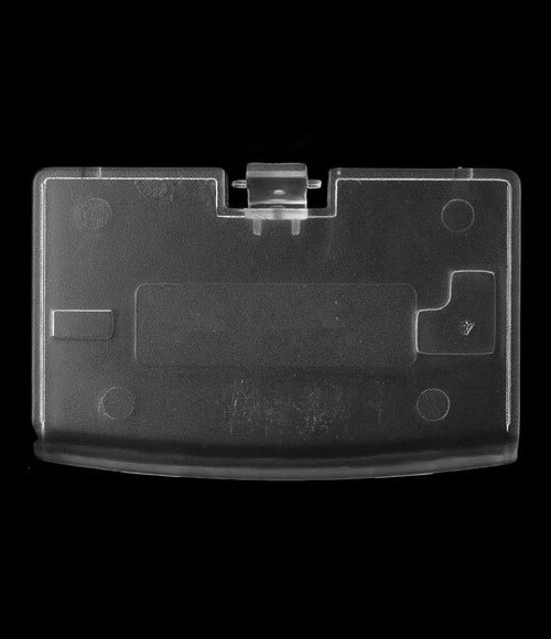 GameBoy Advance Replacement Clear Battery Cover