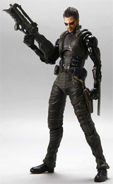 Deus Ex: Human Revolution Play Arts Kai Adam Action Figure