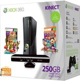 Microsoft Xbox 360 Slim 250GB Holiday Kinect Bundle