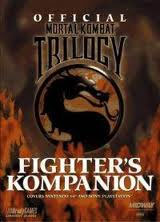 Mortal Kombat Trilogy Fighter's Kompanion Official Guide Book