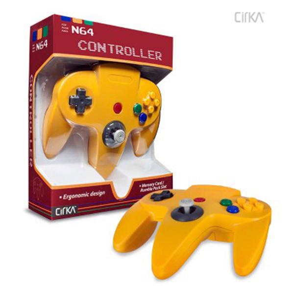 N64 Controller (Yellow)