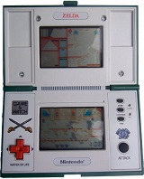 Game & Watch Multi-Screen Series: Zelda