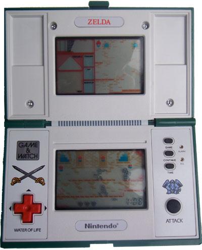 Game & Watch Multi-Screen Series: Zelda