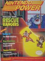 Nintendo Power July/August 1990 Rescue Rangers