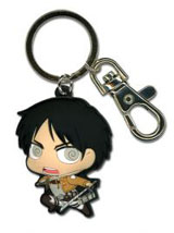 Attack on Titan SD Eren PVC Keychain
