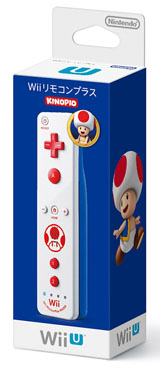 Nintendo Wii Remote Plus Toad