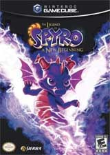 Legend of Spyro: A New Beginning Instriction Manual