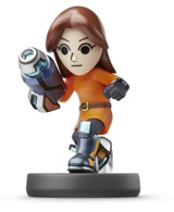 amiibo Mii Gunner Super Smash Bros.