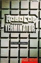 Robocop VS. the Terminator (Instruction Manual)