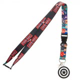Marvel Civil War Character Lanyard With Charm