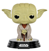 Pop Star Wars Dagobah Yoda Vinyl Figure