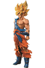 Dragon Ball Z Super Saiyan Goku Manga Dimensions 13 Inch Figure