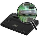 Neo Geo AES Unibios Socket with Bios Chip Installation Service