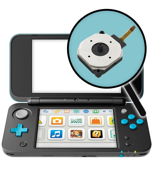Nintendo New 2DS XL Repairs: Analog Control Stick Replacement Service