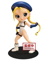 Street Fighter: Cammy Q-Posket Figure Blue Version