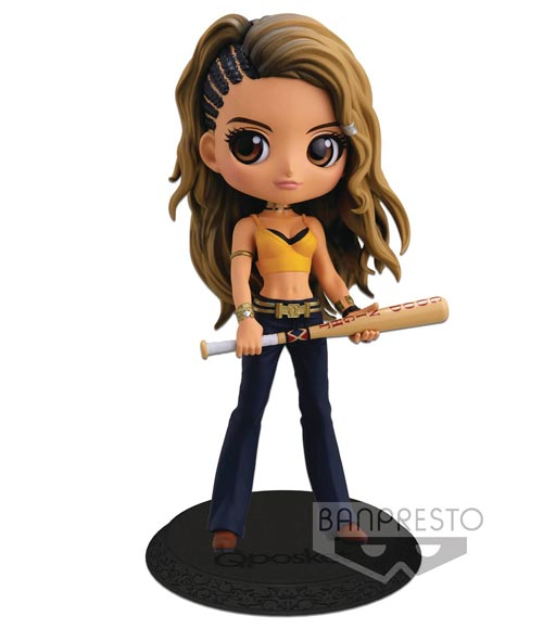 Buy Merchandise Birds Of Prey Movie Q Posket Black Canary Figure Import Estarland Com