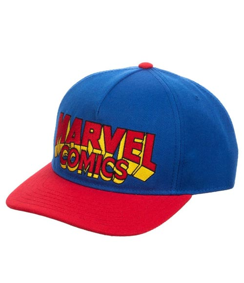 Marvel Comics Slouch Snapback Hat
