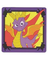 Spyro the Dragon Silicone Coaster 4-Piece Set